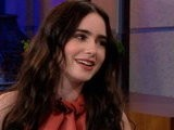 The Tonight Show With Jay Leno Lily Collins, Part 1