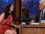 The Tonight Show With Jay Leno Lily Collins, Part 2