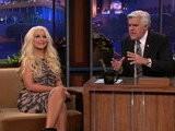 The Tonight Show With Jay Leno Christina Aguilera, Part 2