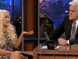 The Tonight Show With Jay Leno Christina Aguilera Preview