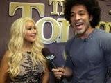The Tonight Show With Jay Leno Backstage: Christina Aguilera Kevin Smith Melanie Fiona