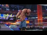 The Rock VS John Cena WrestleMania Fight Highlights