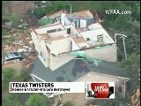 Texas Tornadoes Cause Damage, Injuries