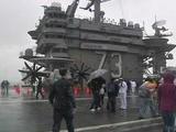 U.S. Aircraft Carrier USS George Washington Sails Into Hong Kong Waters