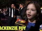 Vampire Baby Mackenzie Foy On Staring In Breaking Dawn With Rob And Kristen