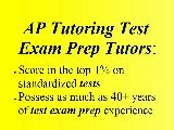 Visalia AP Exam Test Prep Tutor Visalia
