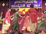 VIDYARANYA KANNADA KOOTA: SANKRANTHI 2012: PART 5: FOLK DANCE: MUNJANEDDU