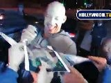Vin Diesel Shows Love To Fans At Dominick&#039 S