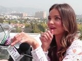 Victoria' S Secret Model Miranda Kerr Reacts To Cody Simpson' S Serenade - Exclusive!