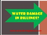 Water Damage Company Billings