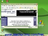 Windows XP Tutorial Scrolling Windows Microsoft Training Lesson 1.6