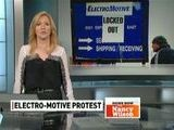 Workers Rally For End To Electro-Motive Lockout