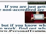 What Types Of Personal Training Certification Should I Get?