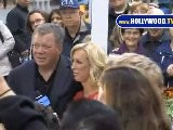 William Shatner Beams Down To Good Morning America!