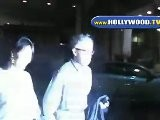 Woody Allen And Soon-Yi Leaving Mr Chow In Beverly Hills