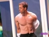 William Levy @WillyLevy29 & @CherylBurke Practicando Para DWTS E! News