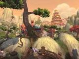 World Of Warcraft: Mists Of Pandaria The Wandering Isle Flythrough