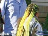 Willow Smith Debuts New Yellow Hairdo