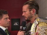 WWE Monday Night Raw CM Punk Reacts To What Chris Jericho Said About His Mother