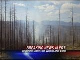 Wildfire North Of Woodland Park