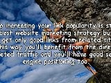 Website Marketing Strategies - Increasing Your Link Popularity