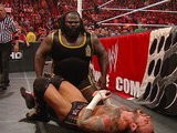 WWE Monday Night Raw WWE Champion CM Punk Vs. Mark Henry