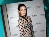 Mischa Barton Wears Sheer Shirt