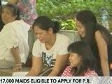 Tse Discusses Hong Kong Maids' Residency Status