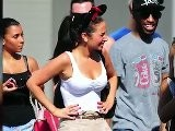 Tulisa Wears Minnie Mouse Ears At Disney World