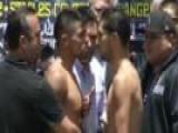 Ortiz Vs. Lopez Weigh-In