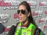 Danica Patrick Wins Nationwide Pole