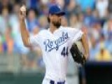 Hochevar Shuts Out Rays