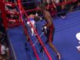 Javier Fortuna Knocks Out Yuandale Evans