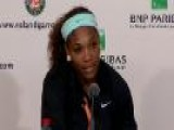 Serena Williams Not Happy