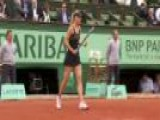 Sharapova Powers Past Kanepi