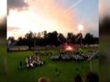 Fireworks Explode Prematurely At A Jacksonville Graduation