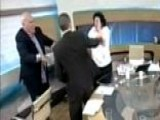 Fight Breaks Out On Greek Talk Show