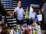 Romney Retools Political Rally Into Disaster Relief Event