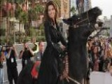 Shania Twain Makes A Big Entrance