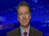 Sen. Rand Paul On Obama Agenda, Republican Policy