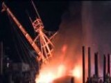 Shrimp Boat Fire Makes Huge Mess On Fla. River