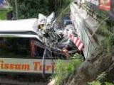 Double Decker Bus Carrying Students Crashes In Germany