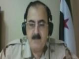 'No Ceasefire,' Vows Syrian Rebel Leader