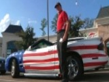 Patriotic Pizza Delivery Guy