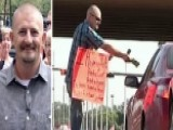 'Panhandler' Hands Out Free Money On His Birthday
