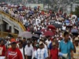 Protests Over Missing Mexican Students Hits Acapulco