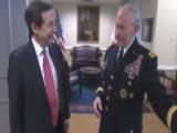 Gen. Dempsey Provides Tour Of Office