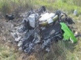 $250K Lamborghini Completely Destroyed After 208 Mph Crash
