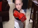 'Iron Man' Gives Boy 'bionic' Arm, Confidence Boost