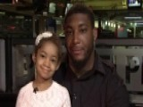 NFL Lineman Devon Still Says Daughter Is Cancer-free